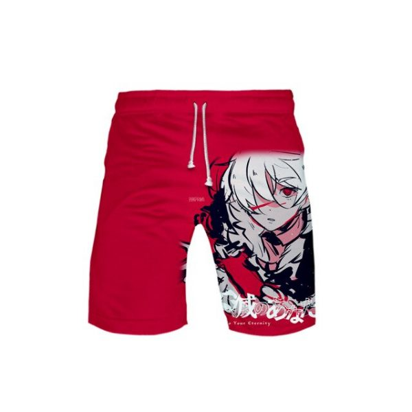 2021 New Anime To Your Eternity Cosplay Shorts 3D Printing Summer Loose Casual Hot Sale Cool 9.jpg 640x640 9 - To Your Eternity Merch