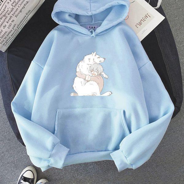 Anime To Your Eternity Fumetsu Hoodies Sweatshirts Men Fashion Pullovers Casual Pullovers Anime Women Kawaii Clothing 1 - To Your Eternity Merch