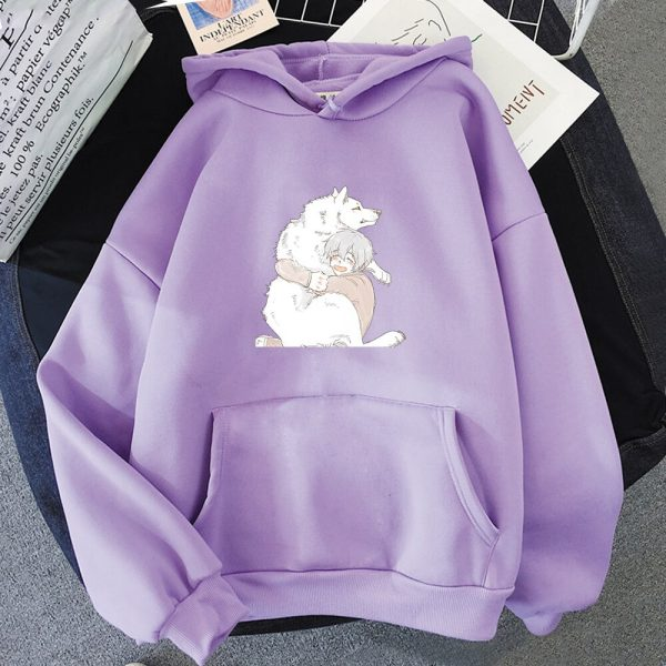 Anime To Your Eternity Fumetsu Hoodies Sweatshirts Men Fashion Pullovers Casual Pullovers Anime Women Kawaii Clothing 3 - To Your Eternity Merch