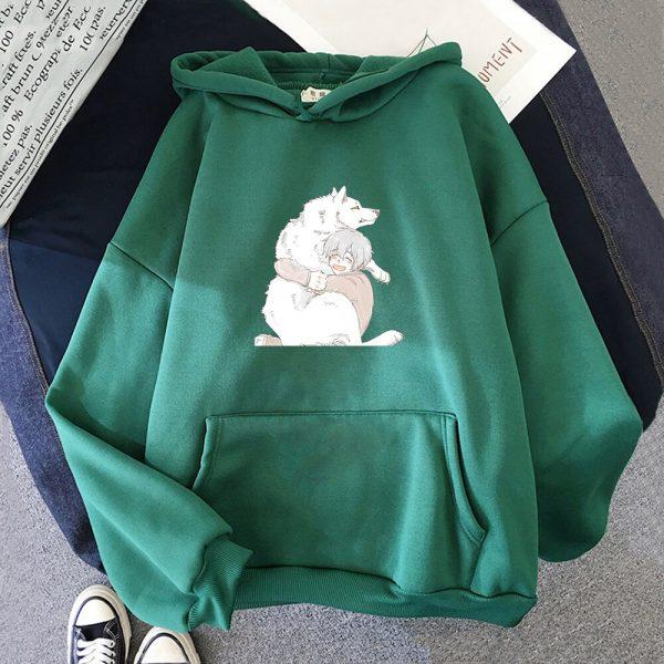 Anime To Your Eternity Fumetsu Hoodies Sweatshirts Men Fashion Pullovers Casual Pullovers Anime Women Kawaii Clothing 4 - To Your Eternity Merch