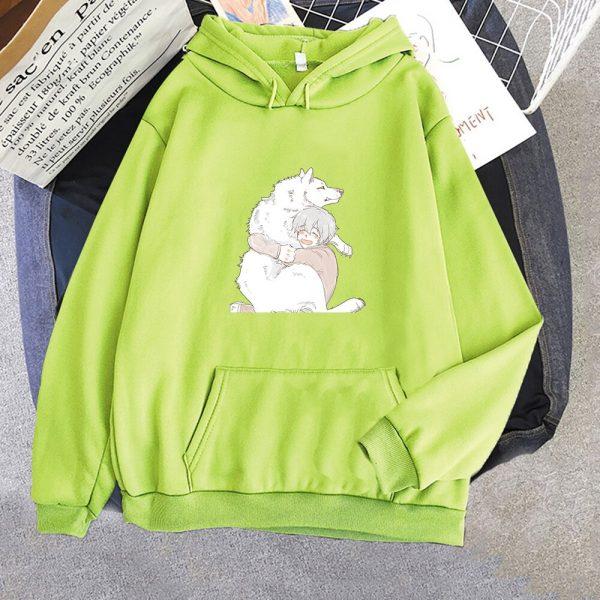 Anime To Your Eternity Fumetsu Hoodies Sweatshirts Men Fashion Pullovers Casual Pullovers Anime Women Kawaii Clothing 5 - To Your Eternity Merch