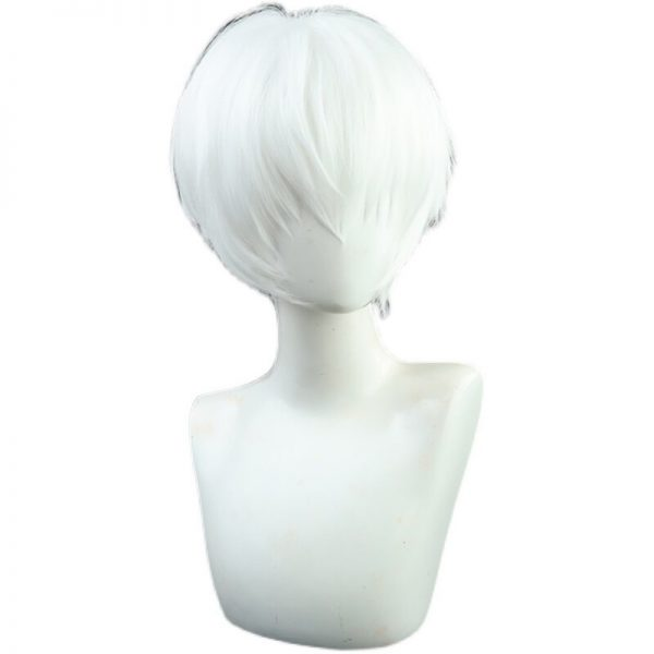 Anime To Your Eternity Fushi Cosplay Wig Short White Ponytail Wig Heat Resistant Synthetic Wigs 4 - To Your Eternity Merch