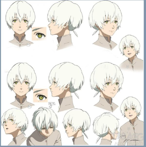 Anime To Your Eternity Fushi Cosplay Wig Short White Ponytail Wig Heat Resistant Synthetic Wigs 5 - To Your Eternity Merch
