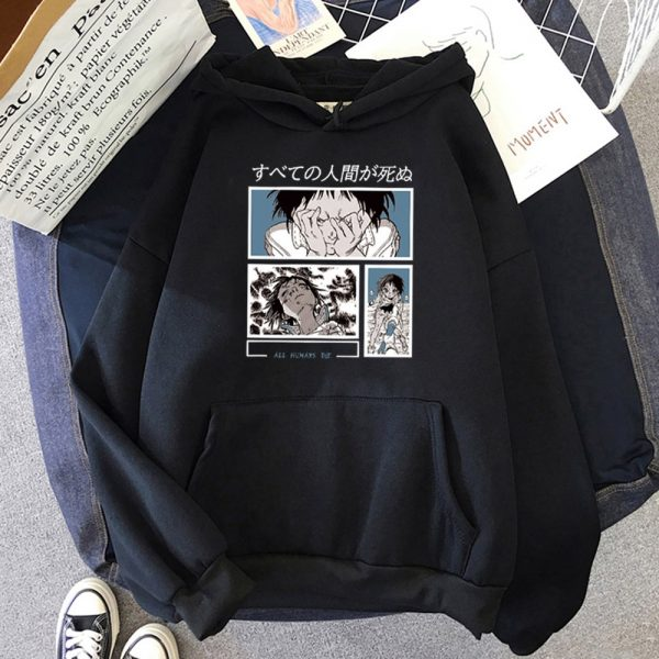 Anime To Your Eternity Hoodie Women Spring Leisure Harajuku Tops Men Pullover Long Sleeve Kpop Sweatshirts - To Your Eternity Merch
