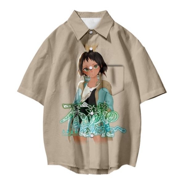 Japanese Hot Anime To Your Eternity Cosplay Tops 3D Printing Fashion Tees Casual Short Sleeves T 5.jpg 640x640 5 - To Your Eternity Merch