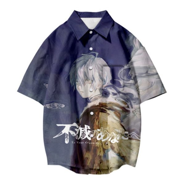 Japanese Hot Anime To Your Eternity Cosplay Tops 3D Printing Fashion Tees Casual Short Sleeves T 7.jpg 640x640 7 - To Your Eternity Merch