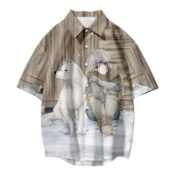 Japanese Hot Anime To Your Eternity Cosplay Tops 3D Printing Fashion Tees Casual Short Sleeves T 8.jpg 640x640 8 - To Your Eternity Merch