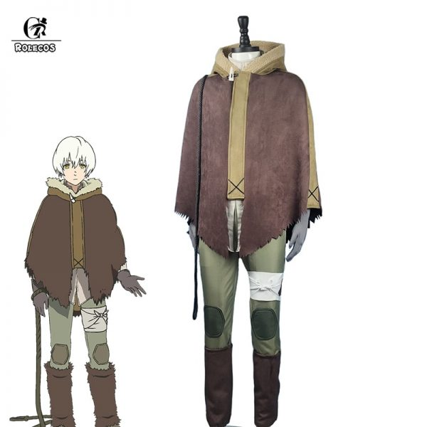 ROLECOS Anime To Your Eternity Fushi Cosplay Costume Fumetsu no Anata e Cosplay Outfit Halloween Carnival - To Your Eternity Merch