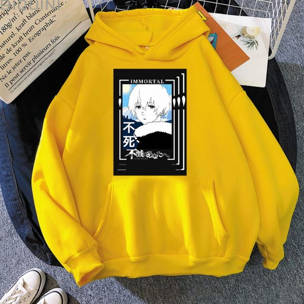 Spring Autumn Women Fashion Anime Graphic Hoodies To Your Eternity Oversized Hoodie Kawaii Clothing Aesthetic Sweatshirt 1 - To Your Eternity Merch