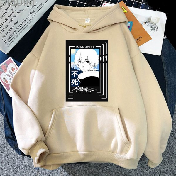 Spring Autumn Women Fashion Anime Graphic Hoodies To Your Eternity Oversized Hoodie Kawaii Clothing Aesthetic Sweatshirt 5 - To Your Eternity Merch