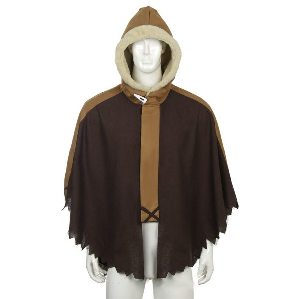 Takerlama 2021 Hot Anime To Your Eternity Fushi Cosplay Hooded Cloak Plush Adult Unisex Winter Warm 1 - To Your Eternity Merch