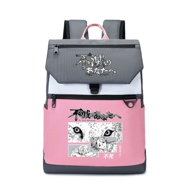 To Your Eternity Anime Travel Backpack Cartoon School Bags Large Bookbag Women Pink Laptop Bagpack Cure 1.jpg 640x640 1 - To Your Eternity Merch