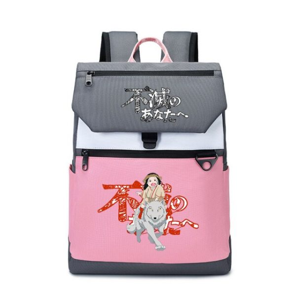 To Your Eternity Anime Travel Backpack Cartoon School Bags Large Bookbag Women Pink Laptop Bagpack Cure 13.jpg 640x640 13 - To Your Eternity Merch