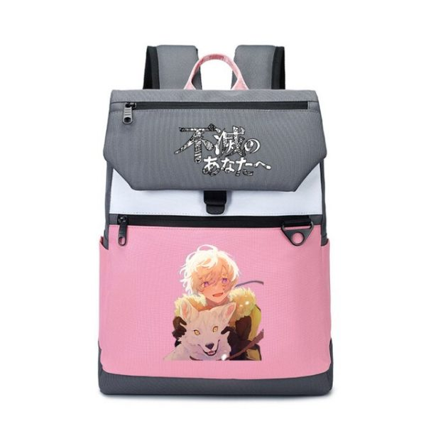 To Your Eternity Anime Travel Backpack Cartoon School Bags Large Bookbag Women Pink Laptop Bagpack Cure 15.jpg 640x640 15 - To Your Eternity Merch