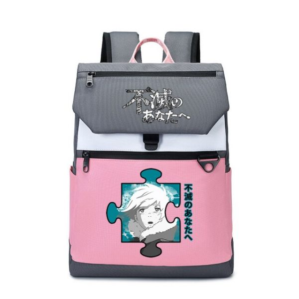 To Your Eternity Anime Travel Backpack Cartoon School Bags Large Bookbag Women Pink Laptop Bagpack Cure 17.jpg 640x640 17 - To Your Eternity Merch