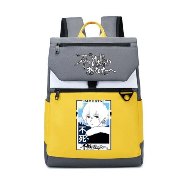 To Your Eternity Anime Travel Backpack Cartoon School Bags Large Bookbag Women Pink Laptop Bagpack Cure 18.jpg 640x640 18 - To Your Eternity Merch