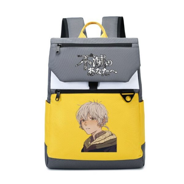 To Your Eternity Anime Travel Backpack Cartoon School Bags Large Bookbag Women Pink Laptop Bagpack Cure 22.jpg 640x640 22 - To Your Eternity Merch