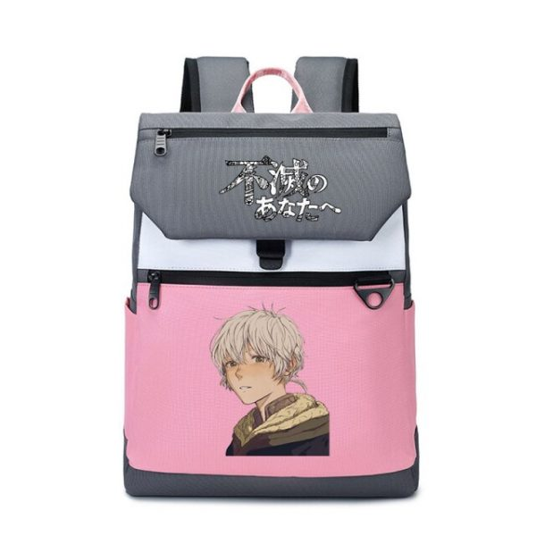 To Your Eternity Anime Travel Backpack Cartoon School Bags Large Bookbag Women Pink Laptop Bagpack Cure 23.jpg 640x640 23 - To Your Eternity Merch