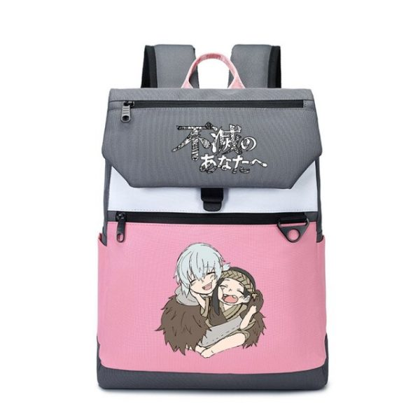 To Your Eternity Anime Travel Backpack Cartoon School Bags Large Bookbag Women Pink Laptop Bagpack Cure 25.jpg 640x640 25 - To Your Eternity Merch