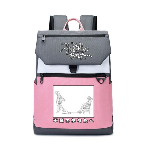 To Your Eternity Anime Travel Backpack Cartoon School Bags Large Bookbag Women Pink Laptop Bagpack Cure 5.jpg 640x640 5 - To Your Eternity Merch