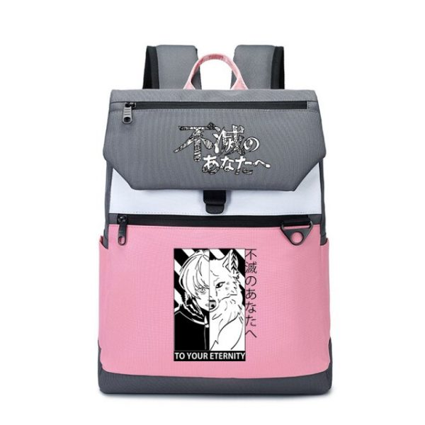 To Your Eternity Anime Travel Backpack Cartoon School Bags Large Bookbag Women Pink Laptop Bagpack Cure 7.jpg 640x640 7 - To Your Eternity Merch
