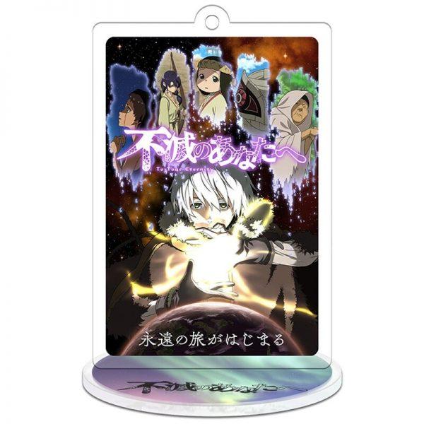 To Your Eternity Keychain Man Anime Key Chain Women Acrylic Standing Keyring Cute Cartoon Model Key 5 - To Your Eternity Merch