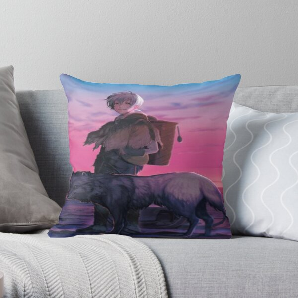 to your eternity Throw Pillow RB1505 product Offical To Your Eternity Merch